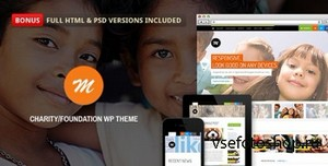 ThemeForest - Mission v2.4 - Responsive WP Theme For Charity