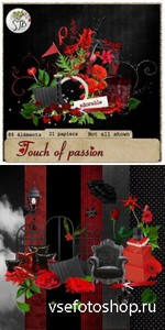 Scrap Set - Touch of Passion PNG and JPG Files
