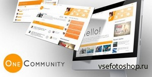 ThemeForest - OneCommunity v1.1.8 - BuddyPress Theme