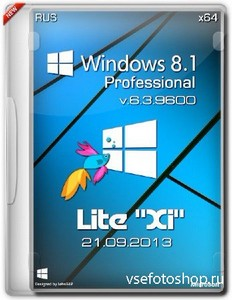 ОС Windows 8.1 Pro х64 v.6.3.9600 Lite