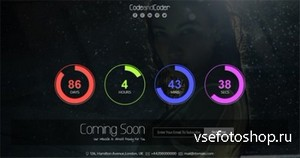 ThemeForest - Vivid-Responsive Coming Soon Template - RIP