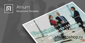 ThemeForest - Atrium - Responsive Corporate One Page Template - RIP