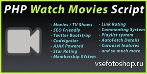 CodeCanyon - PHP Watch Movies Script v1.6.5