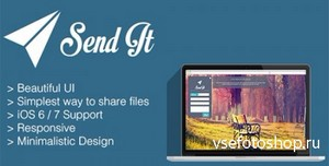 CodeCanyon - Send It - Simple file sharing - RIP