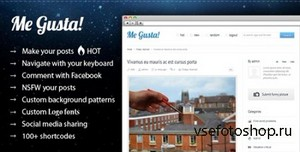 ThemeForest - Me Gusta! v2.8 - User-driven Content Sharing Theme