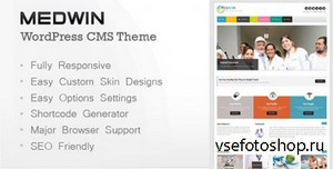ThemeForest - Medwin v2.0 - Responsive Medical WordPress Theme