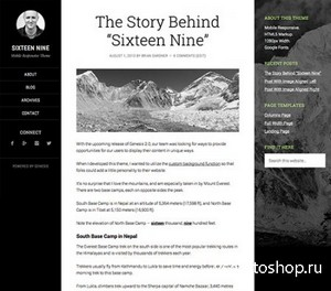StudioPress - Sixteen Nine Theme v1.0