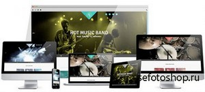 HotJoomlaTemplates - HOT Music Band - Joomla 2.5 & 3.1 Template