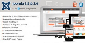 ThemeForest - TouchM Responsive Multi-purpose Joomla Template