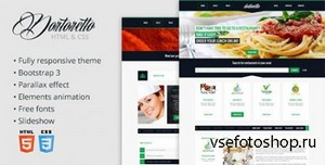 ThemeForest - Dortoretto HTML Theme - RIP