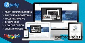 ThemeForest - Spoty Multi Purpose Landing Page - RIP