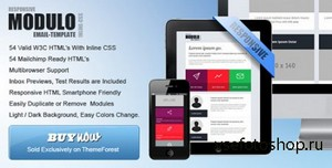 ThemeForest - Modulo - Modern And Modular Responsive Email - RIP