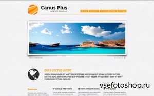 WrapBootstrap - Canus Plus: Business, Portfolio & Blog