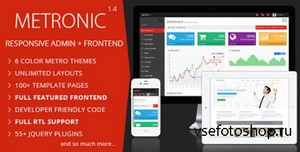 ThemeForest - Metronic v1.4 - Responsive Admin Dashboard Template