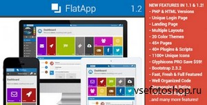 ThemeForest - FlatApp v1.2.1 - Premium Admin Dashboard Template - FULL