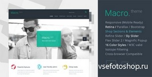 ThemeForest - Macro - Multipurpose HTML5 Template - RIP