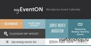 CodeCanyon - EventOn v2.1.15 - WordPress Event Plugin