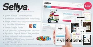 ThemeForest - Sellya v1.0.7.1 - Responsive OpenCart Theme