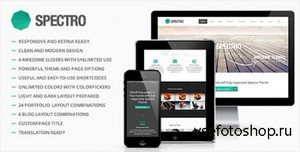 ThemeForest - Spectro v1.0 - Responsive Multi-Purpose Theme