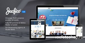 ThemeForest - Jacfico - Responsive Onepage Template - RIP