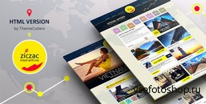 ThemeForest - Ziczac Travel - HTML5 Responsive Booking Template - RIP