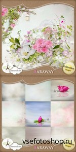 Scrap Set - Faraway PNG and JPG Files