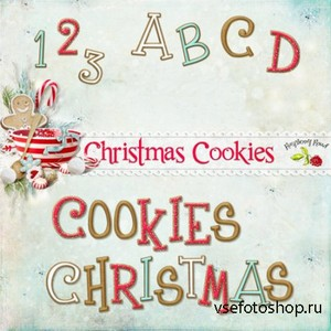 Christmas Cookies Alpha Set