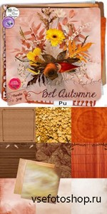 Scrap Set - Bel Automne PNG and JPG FIles