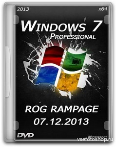 Windows 7 professional x64 Rog Rampage E3 (ENG/2013)