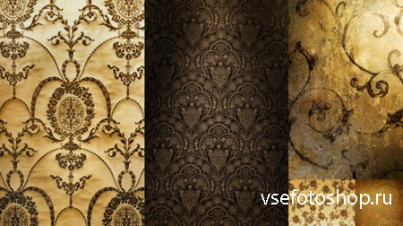 Set Gorgeous Patterned HQ Textures JPG Files
