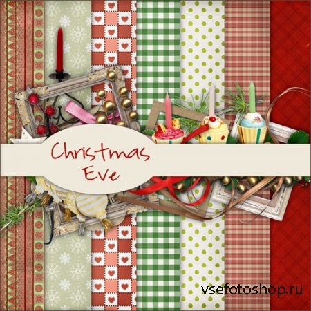 Shristmas Eve PNG and JPG Files