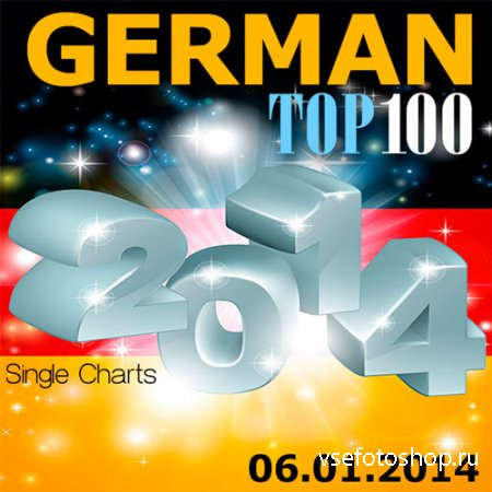 German TOP 100 Single Charts 06.01.2014 (2014)