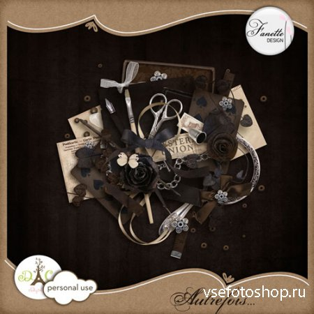 Scrap Set - Autrefois PNG and JPG Files
