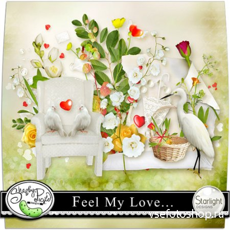 Feel My Love .. PNG and JPG Files