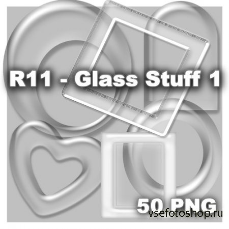 Glass Stuff 1 PNG Files