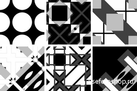 Masks Geometric PNG Files