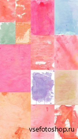 Watercolor Textures JPG Files