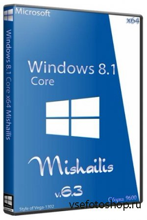 Windows 8.1 Core Mishailis x64 (2013) Русский