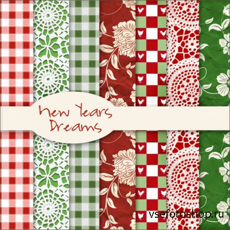 New Years Dreams Textures JPG Files