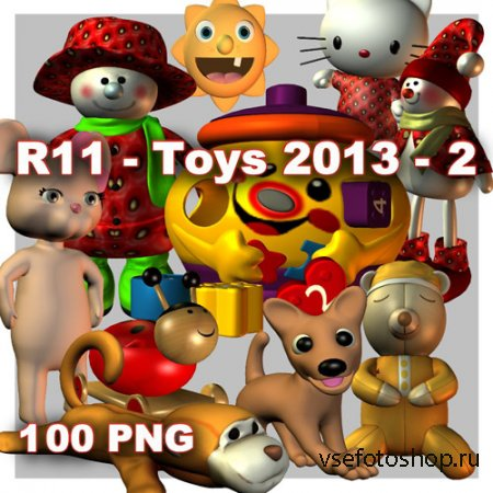 Toys 2 PNG Files