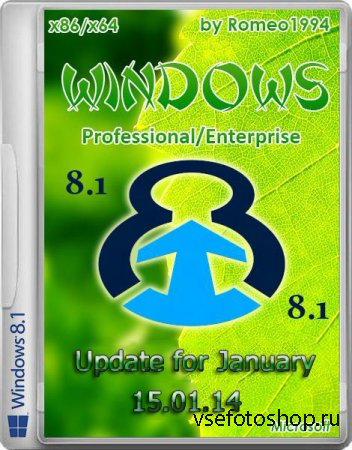 Windows 8.1 Enterprise / Professional Update for January 15.01.14 by Romeo1 ...