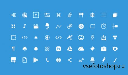 Mixed Glyph Icons Pack