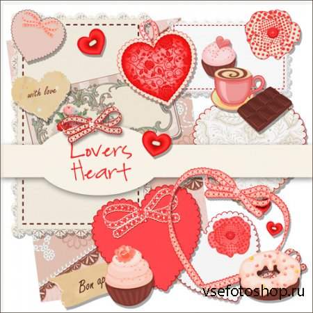 Lovers Heart PNG Files