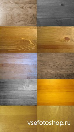 High Resolution Wood Texture Set