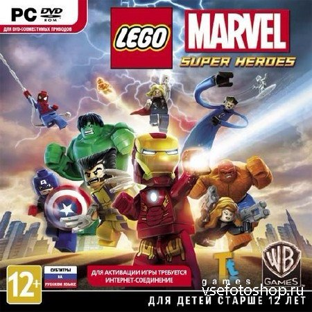 LEGO Marvel Super Heroes *Upd2 + 2DLC* (2013/RUS/ENG/RePack by R.G.Механики ...