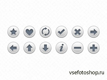 Minimal And Grey Navigation Icon Button
