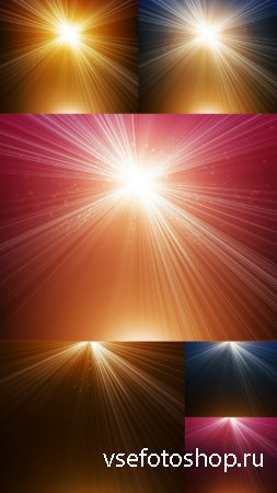 Sparkling Rays Textures JPG Files