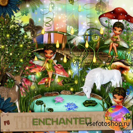 Scrap - Enchanted PNG and JPG Files