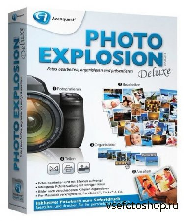 Avanquest Photo Explosion Deluxe 5.01.26070
