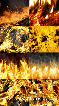 Beautiful Fire HQ Textures 2 JPG Files